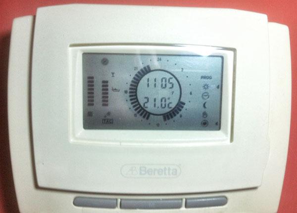 Sostituzione termostato beretta supermeteo componenti for Termostato perry vecchio modello
